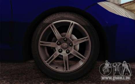 Mitsubishi Eclipse GT v2 für GTA San Andreas zurück linke Ansicht