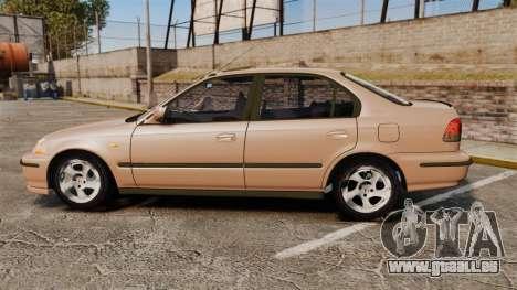Honda Civic für GTA 4 linke Ansicht