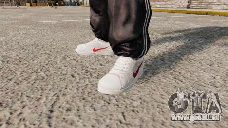 Chaussures de sport Nike Classics pour GTA 4 secondes d'écran