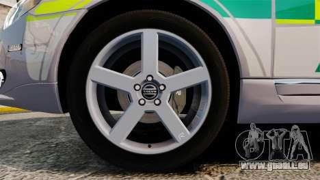 Volvo V70 Ambulance [ELS] für GTA 4 Rückansicht