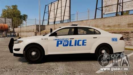 GTA V Vapid Police Interceptor LCPD [ELS] pour GTA 4 est une gauche