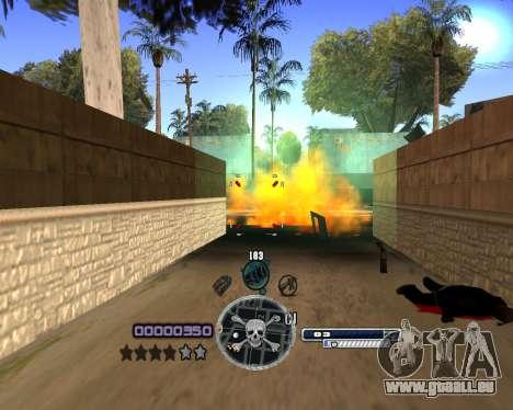 C-HUD by Niko für GTA San Andreas dritten Screenshot