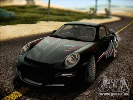 RUF RT12S für GTA San Andreas Innen