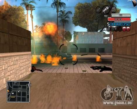 (C) HUD-par Wh_SkyLine pour GTA San Andreas troisième écran