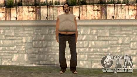 Umberto Robina pour GTA San Andreas