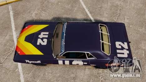 Plymouth Cuda AAR 1970 pour GTA 4 est un droit