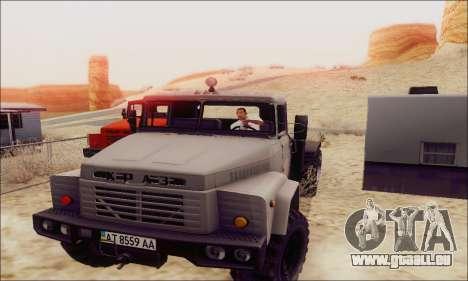KrAZ 260v für GTA San Andreas linke Ansicht
