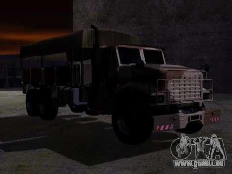 GTA V Barracks OL pour GTA San Andreas sur la vue arrière gauche