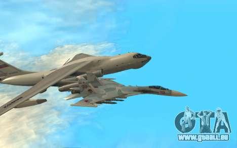 Su-33 für GTA San Andreas linke Ansicht