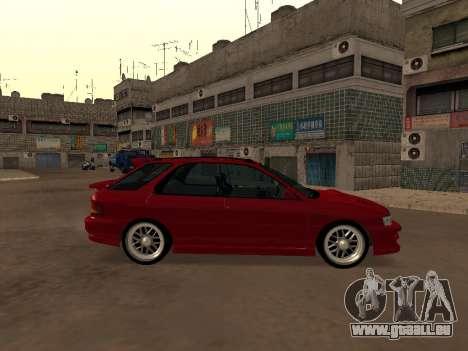 Subaru Impreza Wagon für GTA San Andreas linke Ansicht