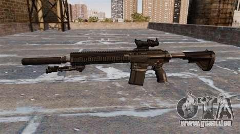 HK417 rifle pour GTA 4 troisième écran
