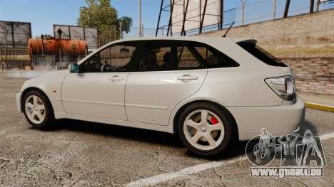 Toyota Altezza Gita pour GTA 4 est une gauche