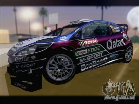 Ford Fiesta RS WRC 2013 für GTA San Andreas Seitenansicht