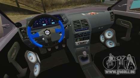 Vaz-2110 pour GTA 4 est un côté