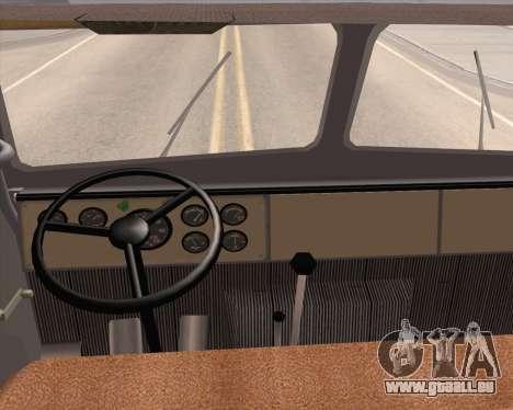 MAZ 5431 pour GTA San Andreas vue de droite