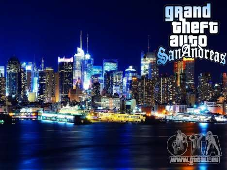 Loadscreens New-York für GTA San Andreas neunten Screenshot