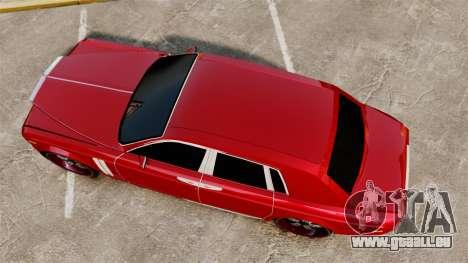 Rolls-Royce Phantom Mansory pour GTA 4 est un droit
