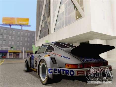 Porsche 911 RSR 3.3 skinpack 3 pour GTA San Andreas laissé vue