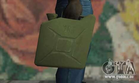 Boîte métallique pour GTA San Andreas troisième écran