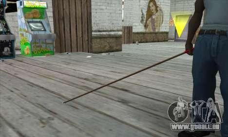 New Pool Cue für GTA San Andreas dritten Screenshot