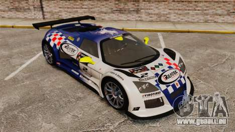 Gumpert Apollo S 2011 für GTA 4-Motor