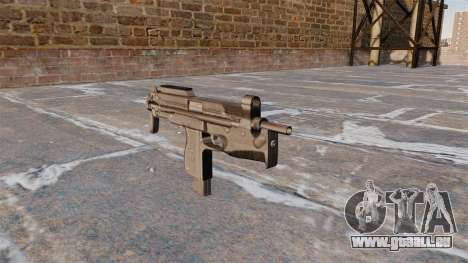 Pistolet mitrailleur MP-98 Glauberyt pour GTA 4