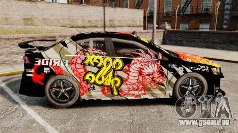 Mitsubishi Lancer Evolution X Ryo King für GTA 4 linke Ansicht
