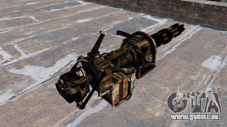 Mitrailleuse lourde de GAU-19 pour GTA 4 secondes d'écran