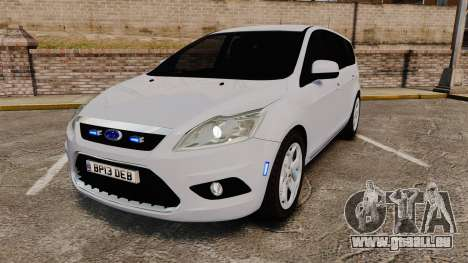 Ford Focus Estate 2009 Unmarked Police [ELS] pour GTA 4