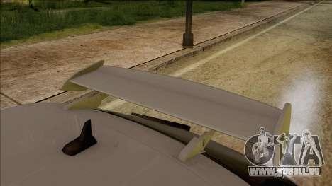 Audi S3 pour GTA San Andreas vue arrière