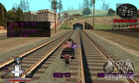 P-HUD OFWGKTA für GTA San Andreas