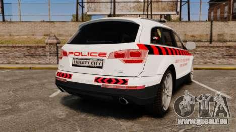 Audi Q7 Enforcer [ELS] für GTA 4 hinten links Ansicht