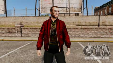 Rote Lederjacke für GTA 4