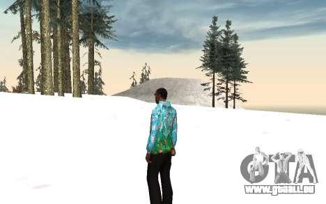 Sotschi 2014-Jacke für GTA San Andreas zweiten Screenshot