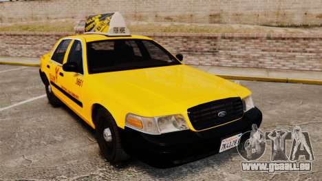 Ford Crown Victoria 1999 SF Yellow Cab pour GTA 4
