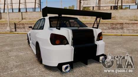 Subaru Impreza v2.0 pour GTA 4 Vue arrière de la gauche