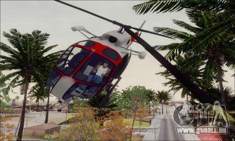 GTA V Ambulacia Maverick pour GTA San Andreas vue de côté