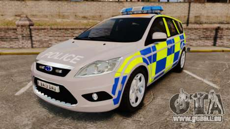Ford Focus Estate 2009 Police England [ELS] für GTA 4