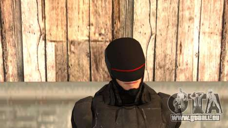 Robocop 2014 Movie Version pour GTA San Andreas troisième écran