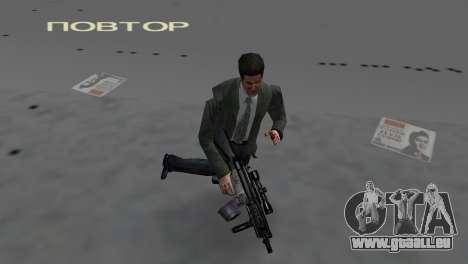Custom MP5 pour le quatrième écran GTA Vice City