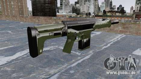 Crysis 2-Sturmgewehr für GTA 4 Sekunden Bildschirm
