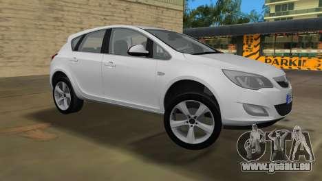 Opel Astra 2011 pour une vue GTA Vice City de la gauche