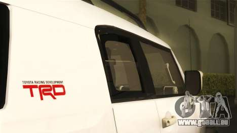 Toyota FJ Cruiser 2012 pour GTA San Andreas vue de droite