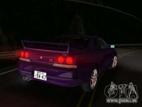 Nissan SKyline GT-R BNR33 für GTA Vice City rechten Ansicht