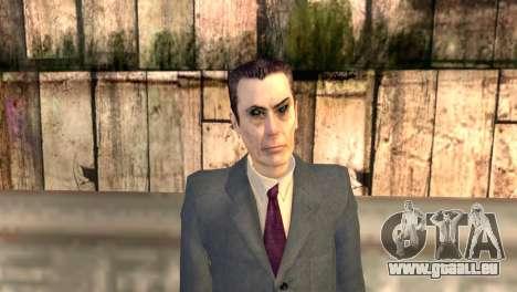 JI-man de Half-Life 2 pour GTA San Andreas troisième écran