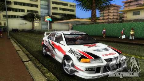 Mitsubishi Lancer Rally pour GTA Vice City