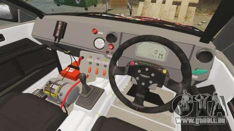 Toyota Corolla GT-S AE86 [EPM] Reimu Hakurei für GTA 4 Rückansicht