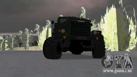 KrAZ 257 pour une vue GTA Vice City de la droite