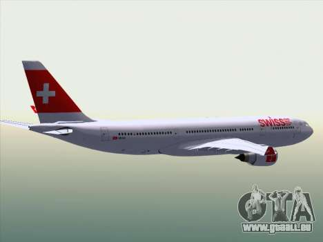 Airbus A330-223 Swiss International Airlines pour GTA San Andreas salon