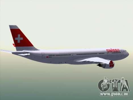 Airbus A330-223 Swiss International Airlines für GTA San Andreas Innen